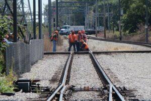 werken spoorweg Leopoldsburg